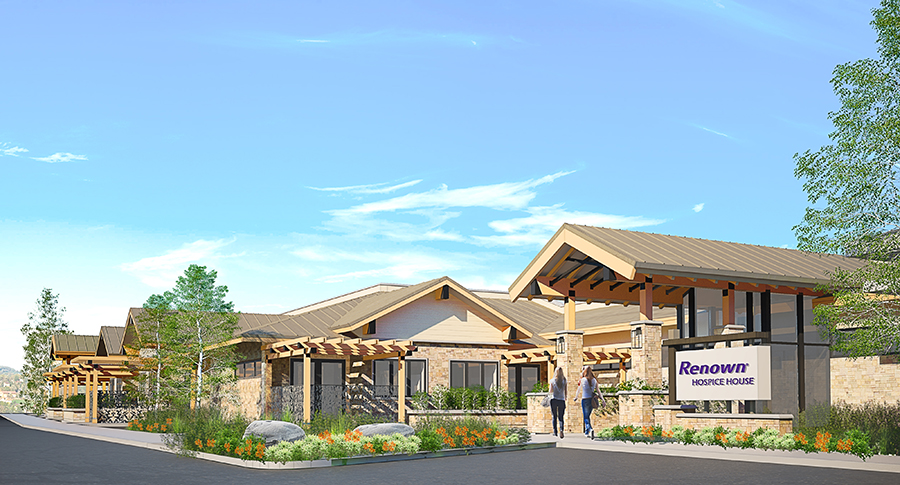 Helping Renown make the Hospice House a reality…